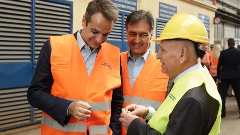 Μητσοτάκης: Στηρίζουμε τη βιομηχανική δραστηριότητα, την καινοτομία και την εξωστρέφεια