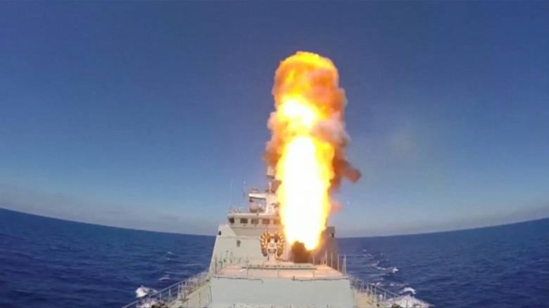 Ρωσικοί πύραυλοι από τη Μεσόγειο κατά του Ισλαμικού Κράτους