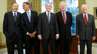 Κλίντον, Ομπάμα, Κάρτερ, Μπους: Οι πρόεδροι των ΗΠΑ ενωμένοι για καλό σκοπό