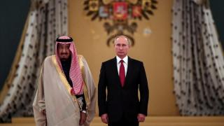 Συνάντηση Πούτιν με τον βασιλιά της Σαουδικής Αραβίας: Συμφωνία για αγορά S-400 (pics)