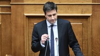 Ενημέρωση βουλευτών του ΣΥΡΙΖΑ για τον προϋπολογισμό από τον Χουλιαράκη
