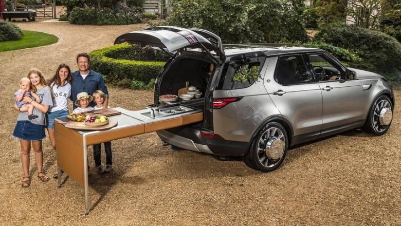 Το αυτοκίνητο του διάσημου σεφ Jamie Oliver είναι κινητή κουζίνα!