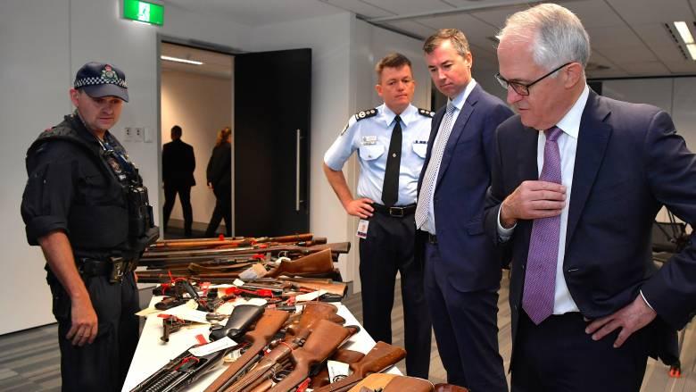 Αυστραλία: 50.000 παράνομα όπλα παραδόθηκαν στις Αρχές χωρίς κυρώσεις για τους κατόχους