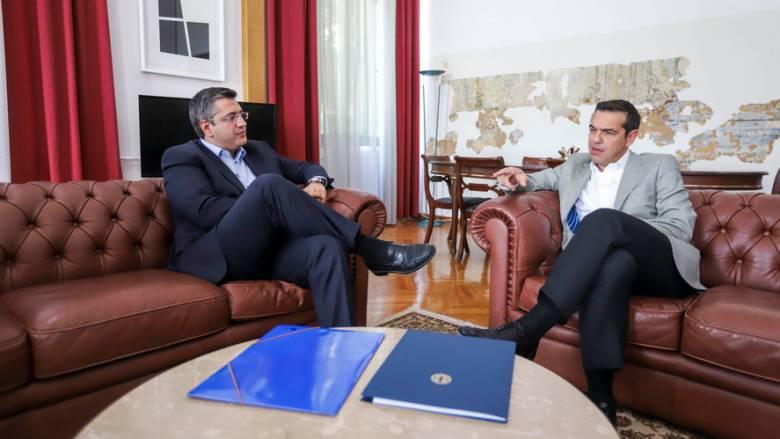 Τι ζήτησε ο Τζιτζικώστας από τον Αλέξη Τσίπρα στη συνάντησή τους