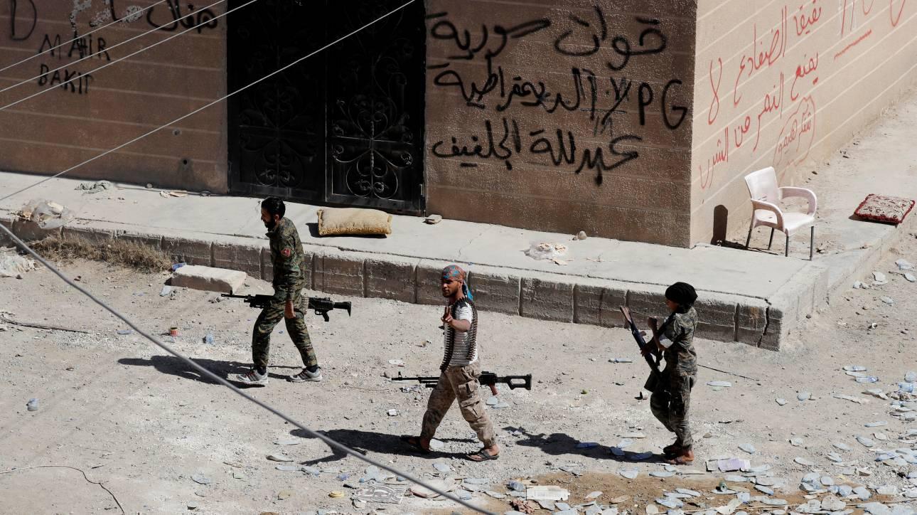 Συρία: Κυβερνητικά στρατεύματα εισήλθαν σε προπύργιο του ISIS