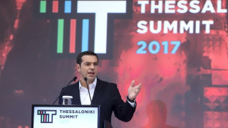 Τσίπρας στο 2o Thessaloniki Summit: Το πρόγραμμα θα τελειώσει στην ώρα του