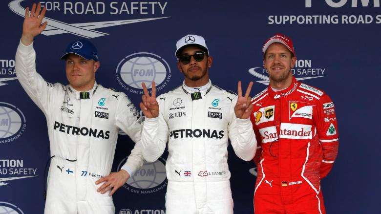 F1: Pole position του Χάμιλτον για πρώτη φορά στην Ιαπωνία (vid)