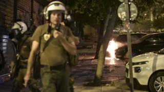 Επεισόδια μεταξύ αστυνομικών και αντιεξουσιαστών στα Εξάρχεια