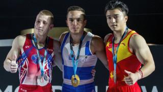Παγκόσμιος πρωταθλητής στους κρίκους ο Λευτέρης Πετρούνιας (vid)