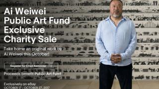 Για φιλανθρωπικούς σκοπούς έργα του Άι Γουέι Γουέι στο eBay