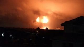 Γκάνα: Νεκροί και τραυματίες από εκρήξεις σε εγκατάσταση διανομής καυσίμων (pics)