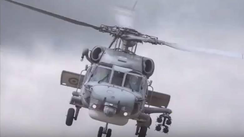Συγκλονιστικό βίντεο του Πολεμικού Ναυτικού από τη διάσωση ψαράδων στον Κορινθιακό