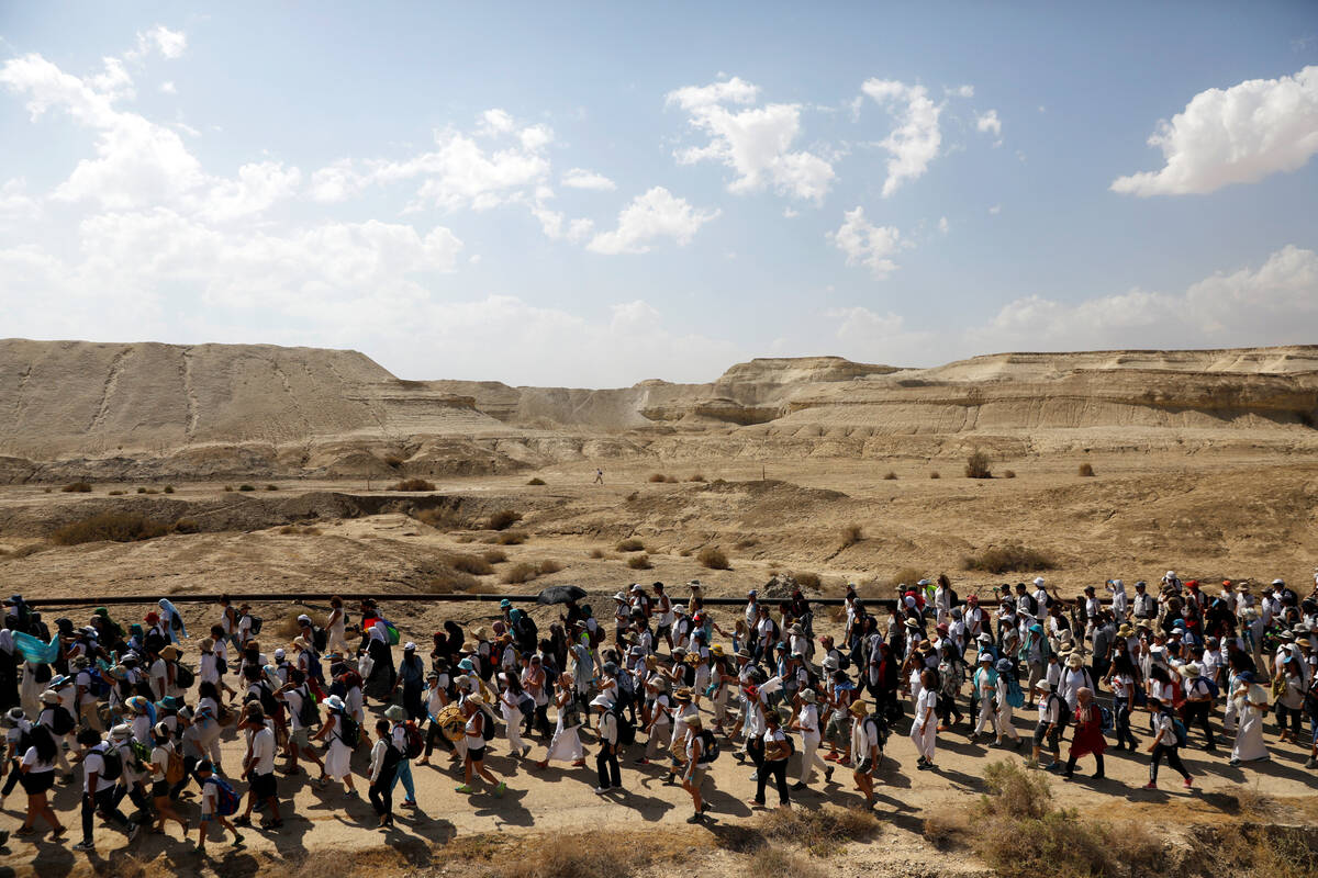 2017 10 08T110410Z 666232119 RC1EFFBE1180 RTRMADP 3 ISRAEL PALESTINIANS PEACEMARCH
