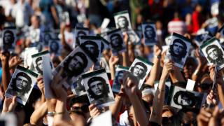Η Κούβα τίμησε τον Τσε Γκεβάρα (pics)