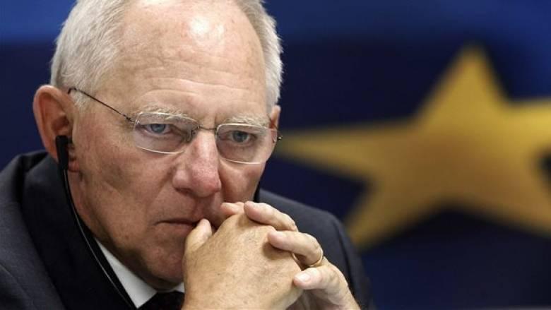 Σόιμπλε στους FT: Το 2015 οι περισσότεροι στο Eurogroup ήθελαν το Grexit