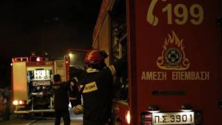 Φωτιά στο κτίριο που στεγάζεται η ΔΟΥ Γλυφάδας