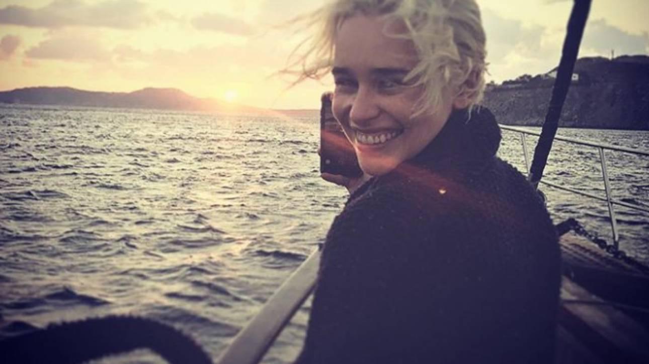 To Game of Thrones αποθεώνει την Ελλάδα: Μετά τον Τζον Σνόου και η Καλίσι στις Κυκλάδες