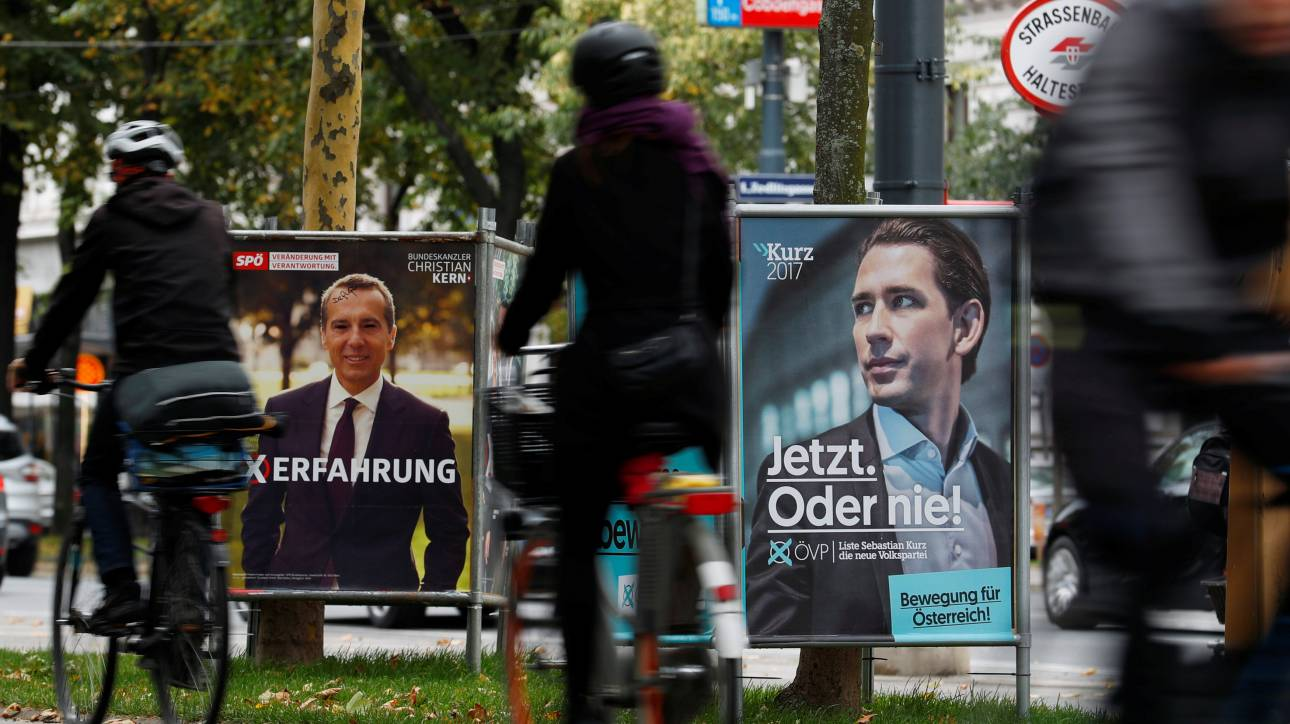 Αυστρία: Μείωση της διαφοράς ανάμεσα σε Λαϊκό Κόμμα και Σοσιαλδημοκράτες ενόψει των εκλογών