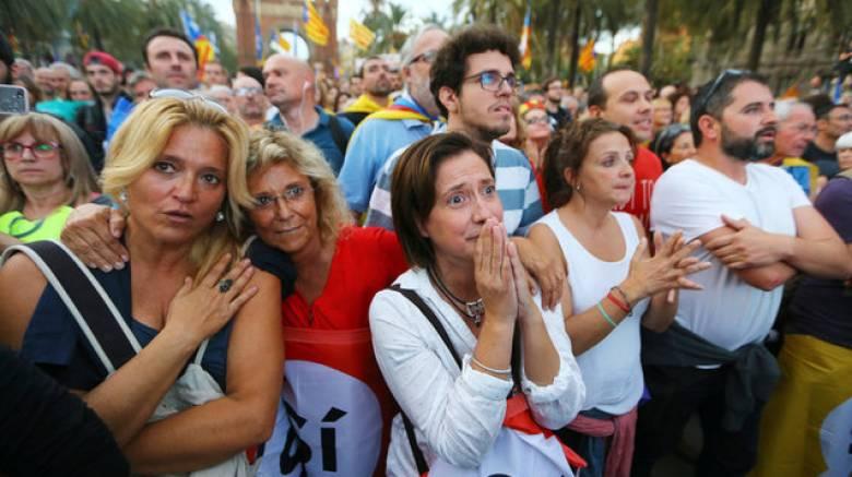 «Πάγωσαν» οι Καταλανοί στο άκουσμα της ομιλίας Πουτζντεμόντ (pics)