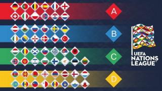 UEFA Nations League: Στη Λίγκα C η εθνική Ελλάδας
