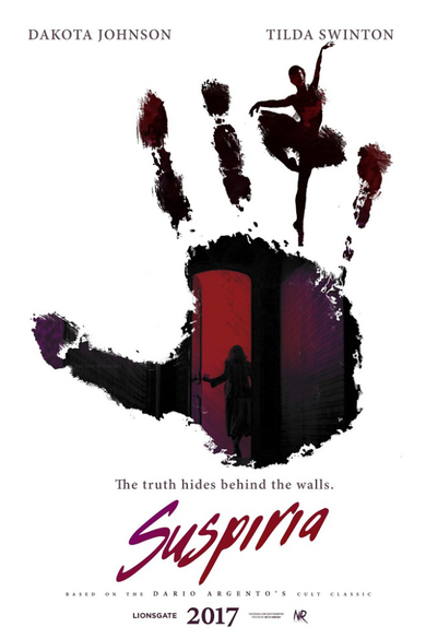 suspiria 2017 horror remake poster