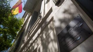 Έκπληκτος ο Ισπανός πρέσβης από την επίθεση του Ρουβίκωνα στην πρεσβεία