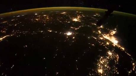 ISS: Εντυπωσιακό timelapse με καταιγίδα από αστραπές