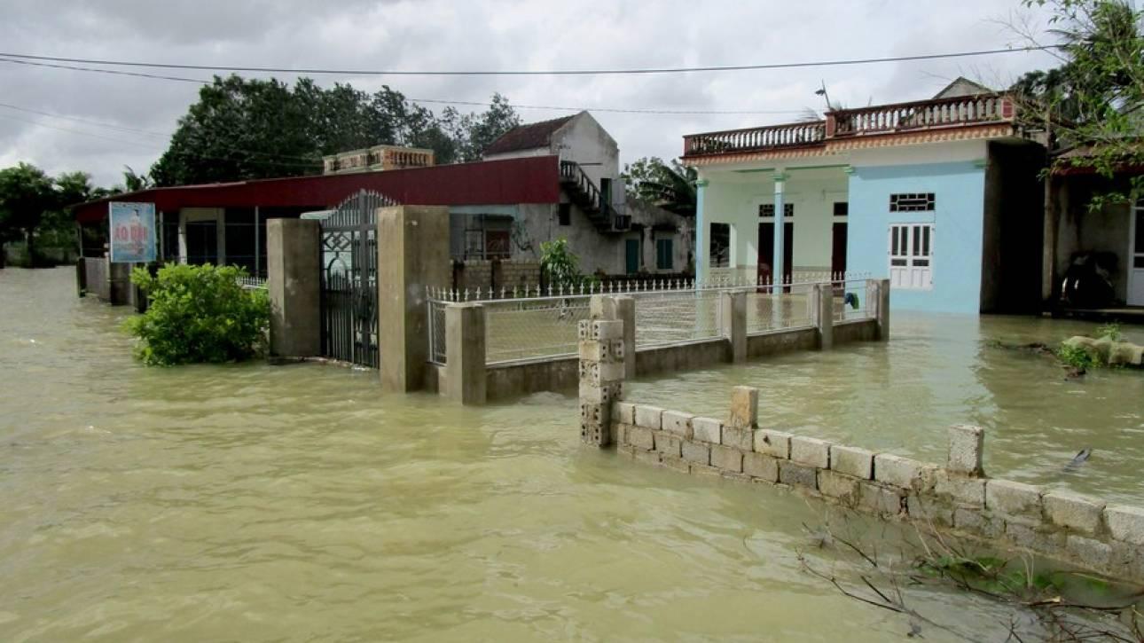Φονικές πλημμύρες στο Βιετνάμ
