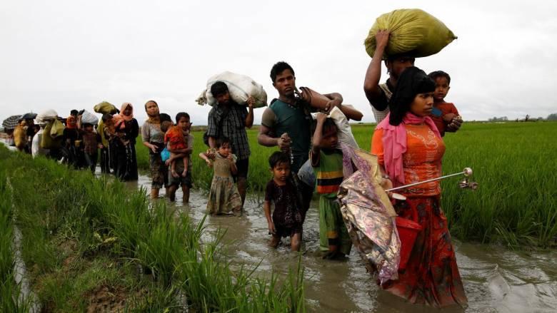Για υπερβολές σε ό,τι αφορά τους εκτοπισμένους Ροχίνγκια «κατηγορεί» τη διεθνή κοινότητα η Μιανμάρ
