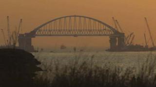 Η γέφυρα που ενώνει την Κριμαία με την ηπειρωτική Ρωσία