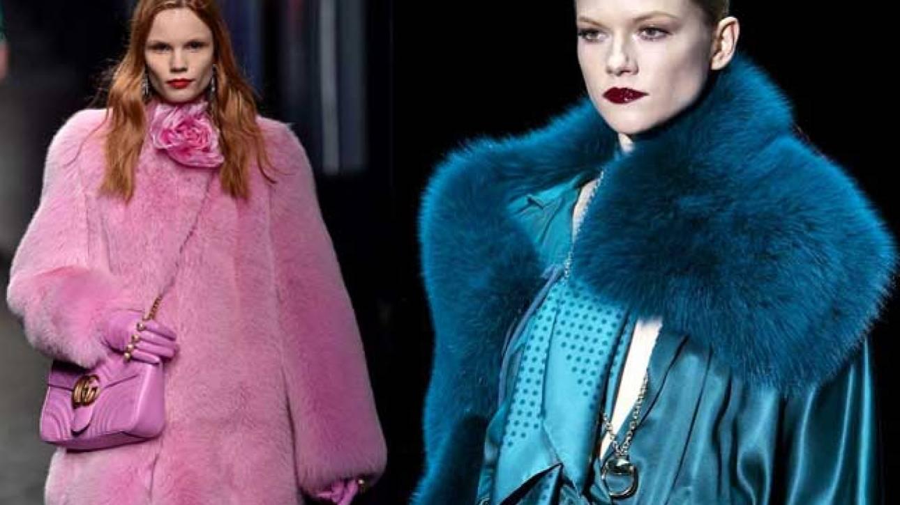 «Δεν είναι μοντέρνα»: ο οίκος Gucci καταργεί τη γούνα από το 2018