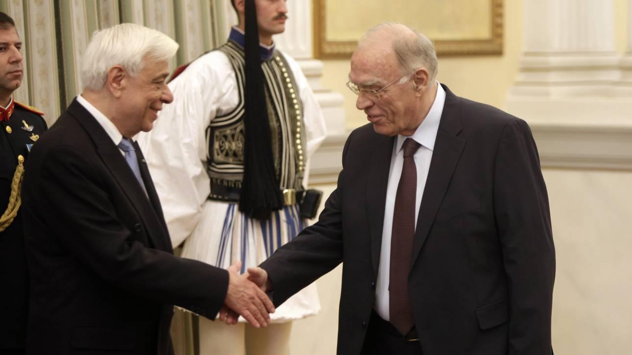 Παυλόπουλος: Θα λάβω υπόψη μου την επιστολή Λεβέντη