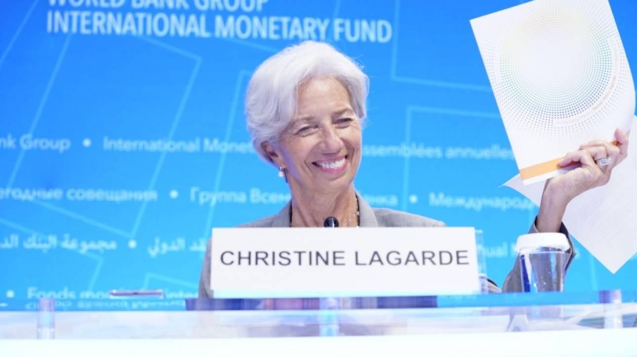 Λαγκάρντ: Δεν ζητάμε νέα μέτρα από την Ελλάδα – Επιμένουμε στην ελάφρυνση του χρέους