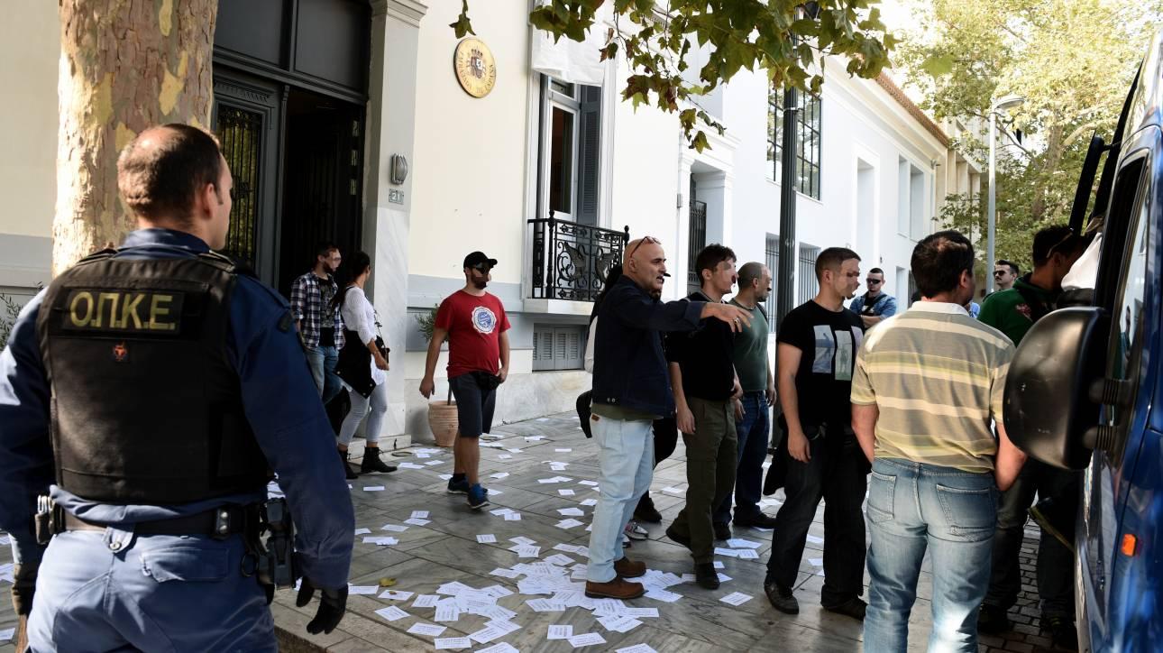 Φυλάκιση έξι μηνών με αναστολή σε μέλη του Ρουβίκωνα