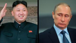 Ο Κιμ «πλησιάζει»  τον Πούτιν αναγνωρίζοντας την προσάρτηση της Κριμαίας στη Ρωσία