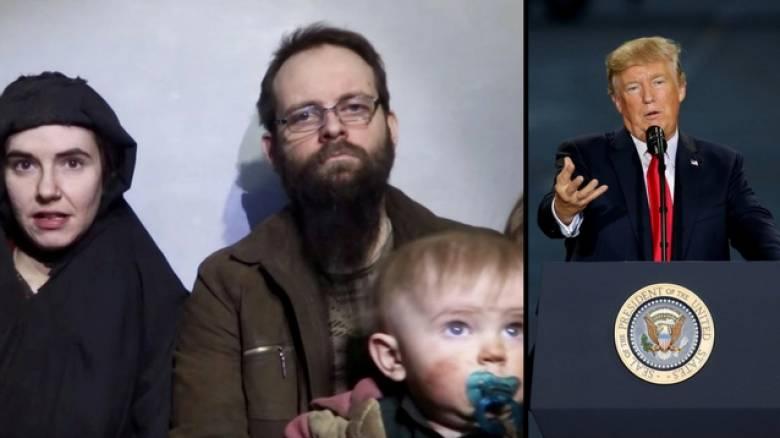 Θερμά λόγια Τραμπ για το Πακιστάν μετά την απελευθέρωση οικογένειας από τους Ταλιμπάν (pics)