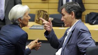 Τσακαλώτος: Το ΔΝΤ δεν μπορεί να είναι με το ένα πόδι μέσα και με το ένα πόδι έξω