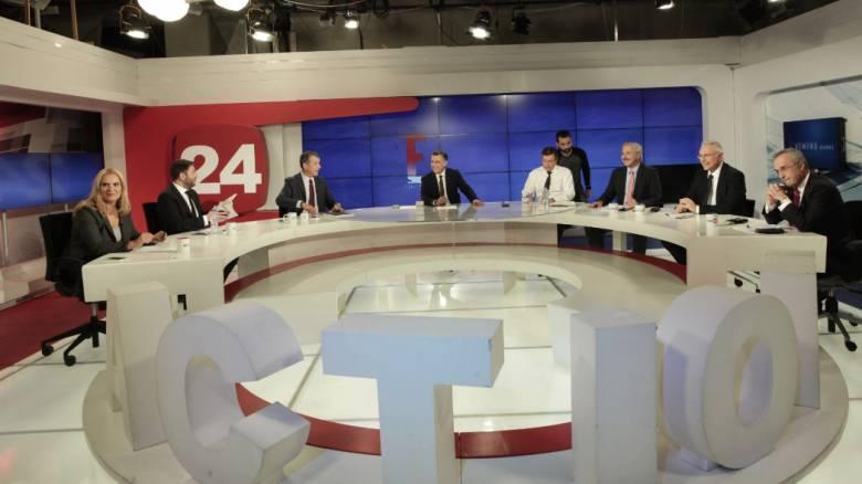 Η μάχη των υποψηφίων για την Κεντροαριστερά - Οι νικητές του πρώτου debate (pics)