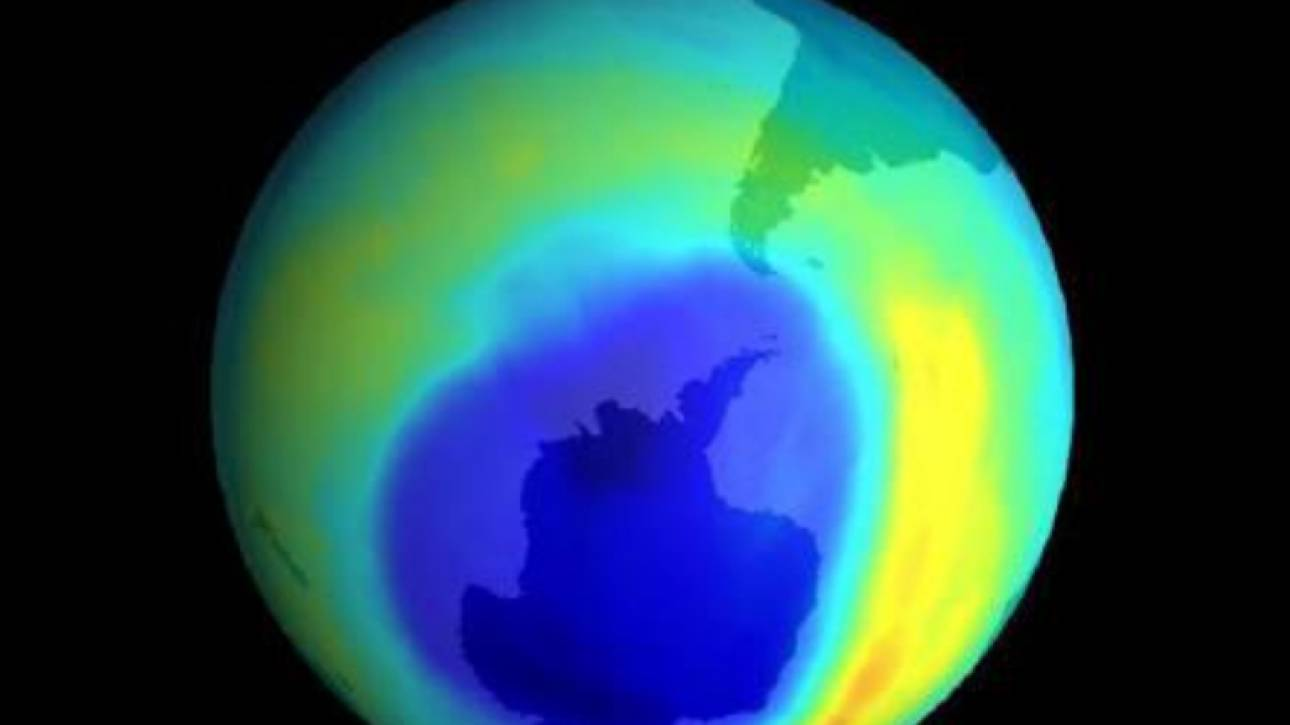 Έως και 30 χρόνια μπορεί να καθυστερήσει η αποκατάσταση της τρύπας του όζοντος