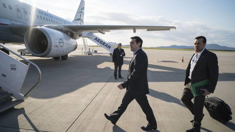 Αναχώρησε ο Αλέξης Τσίπρας για τις ΗΠΑ - Ποιους θα συναντήσει
