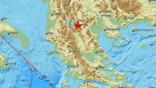 Σεισμός στα σύνορα Ελλάδας - πΓΔΜ
