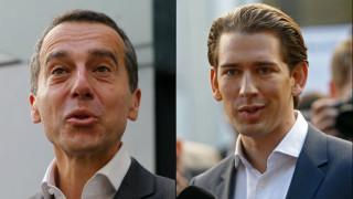 Εκλογές Αυστρία: Αισιόδοξοι για το αποτέλεσμα Κουρτς και Κερν