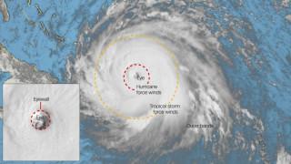 Η «ανατομία» ενός τυφώνα: Όλα όσα πρέπει να γνωρίζετε
