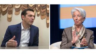 Το χρέος στο επίκεντρο της συνάντησης Τσίπρα-Λαγκάρντ