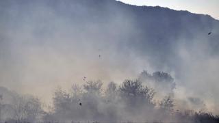 Μεγάλη φωτιά σε εξέλιξη στο Καρπενήσι (pics&vid)