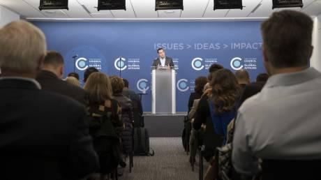 Αλέξης Τσίπρας στο Chicago Council: Η Ελλάδα ισχυρή και πάλι