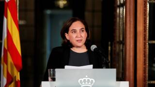 Έκκληση από τη δήμαρχο Βαρκελώνης στην καταλανική κυβέρνηση
