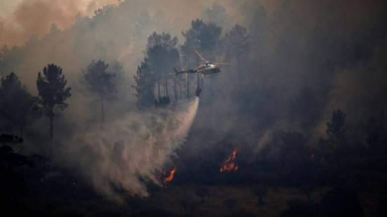 Στους 35 οι νεκροί από τις πυρκαγιές σε Πορτογαλία και Ισπανία