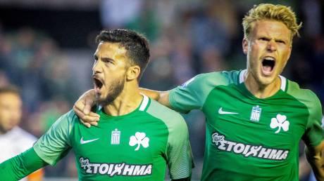 Super League: Ο Παναθηναϊκός νίκησε με 9 παίκτες την ΑΕΛ στο τέλος