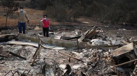 Καλιφόρνια: Δεκάδες αγνοούμενοι στις φωτιές